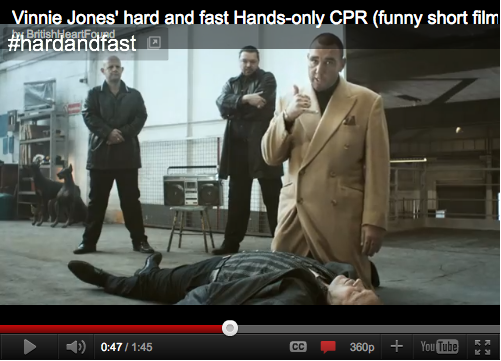 British Heart Foundation CPR Video
