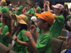 My oldest busting her dance moves last week. #journeyoffthemap2015 We Love vbs at FBC Frisco! #fbcfrisco