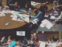 Craft day at MOMSnext #FBCfrisco #FBCfriscomomsnext