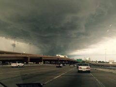 Pics of storms over frisco, Tx.