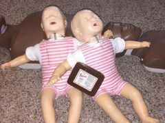 Setting up for an Adoption CPR Class tonight. Excited to use my new Thieves wipes! #oilylife #cprsaves #cprandoilsforhealth
