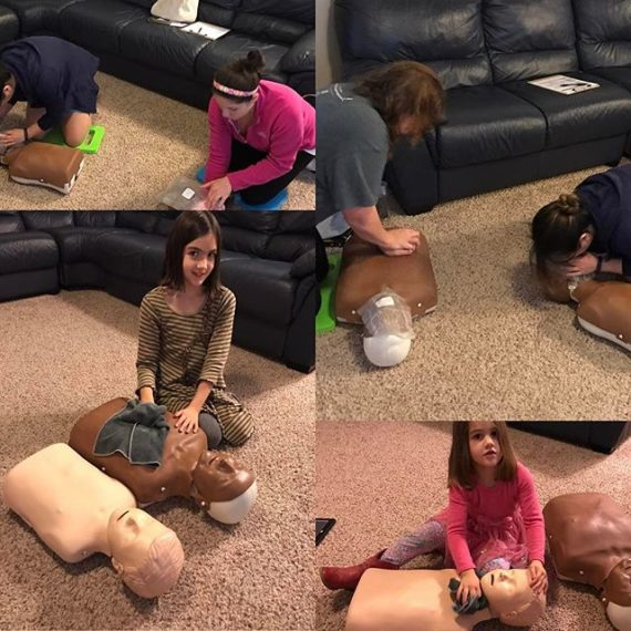 CPR training this am!