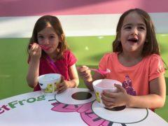 Yogurt date with mommy!
