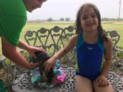 Animal loving Natalie