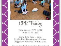 CPR Training in Little Elm. Join now!!