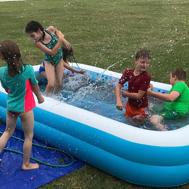 Water Fun with friends!