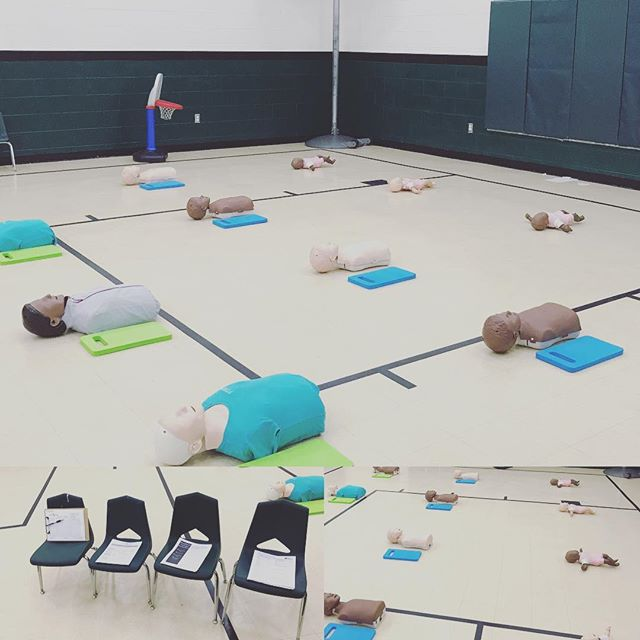 An amazing CPR training with the staff of FMA. I love working with teachers!