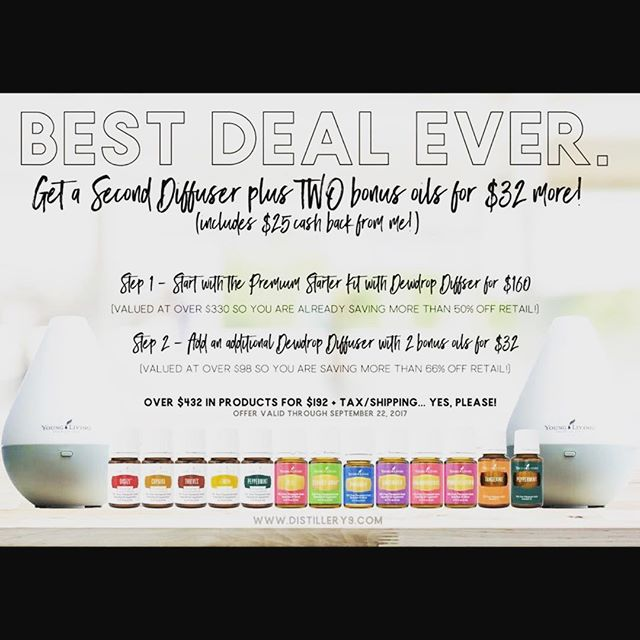 Join my YL team by 9/30/2017 and I'll add $25 to your account in October!