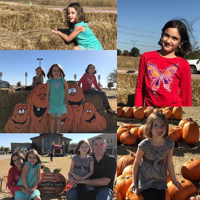 Took my favorite people to the Pumpkin Patch.