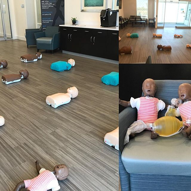 It's BLS time at Comprehensive OBGYN