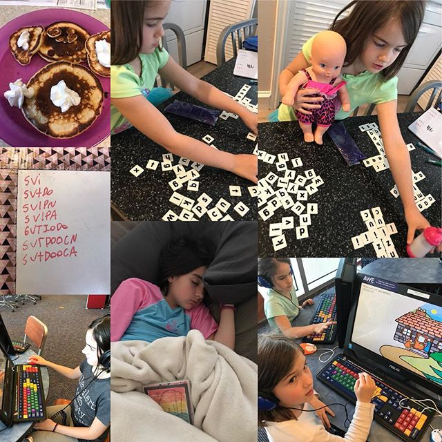 Sweet Homeschool moments April 2018