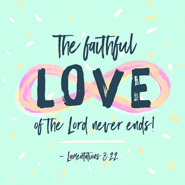 His love never fails, never gives up on me! #eternallife #goodmorning #truth #speaktruth