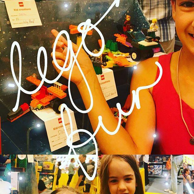 Built some fun summer themed legos at The Washington Square mall yesterday. #legos #legosfordays #steppingonlegos